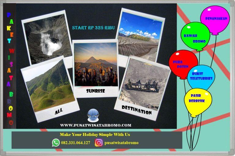 3 Paket Wisata Bromo yang sering diminati Wisatawan