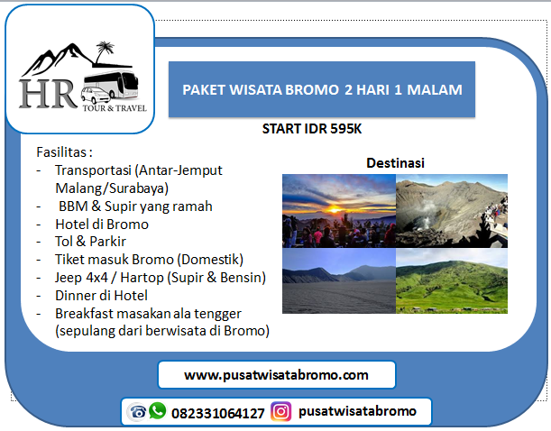 paket tour bromo midnight Dari Surabaya