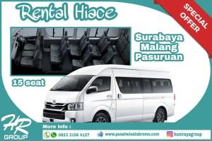 Rental HIACE Pasuruan Malang dan Surabaya Murah Terbaik