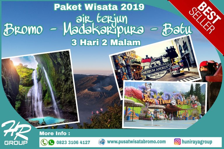 Paket Wisata Bromo Batu Air Terjun Madakaripura 3 Hari 2 Malam 2019 | PusatWisataBromo.com By Huni Raya Group