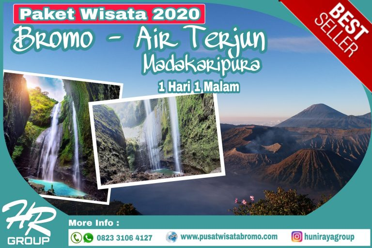 Paket Wisata Bromo – Air Terjun Madakaripura Tour Terlengkap 2020 CV HUNI RAYA GROUP