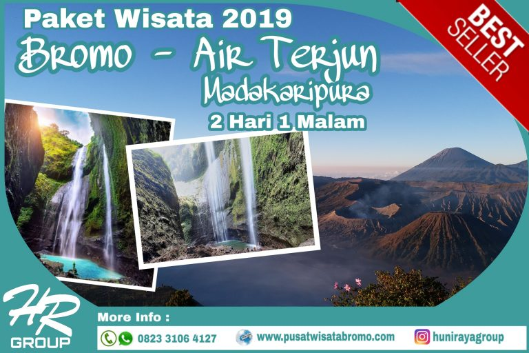 Paket Wisata Bromo Air Terjun Madakaripura 2 Hari 1 Malam terbaru 2019 Murah | PusatWisataBromo.com By Huni Raya Group