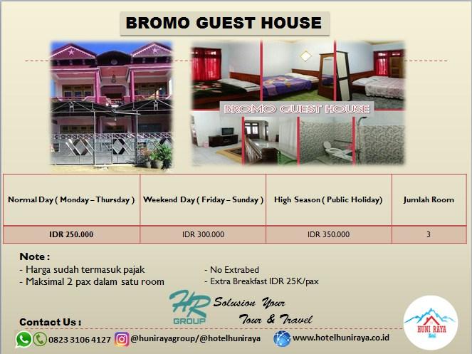 Bromo Guest House Homestay murah di Bromo
