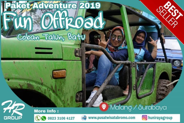 PAKET FUN OFFROAD COBAN TALUN BATU MALANG ADVENTURE ONE DAY TRIP