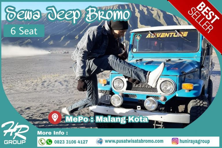 Sewa Jeep Bromo murah dari Malang kota dan Batu terbaru 2019